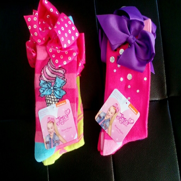 fb7f2afb1 JoJo Siwa knee high socks